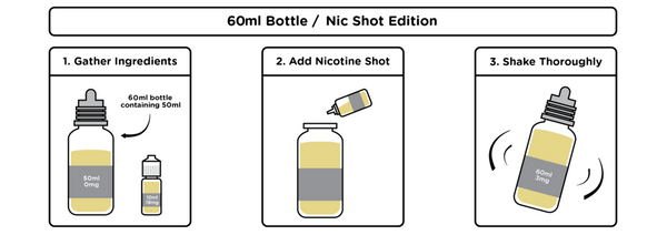 Noose - Guillotine vape liquid by Wick Liquor - 50ml Short Fill - Best E Liquids