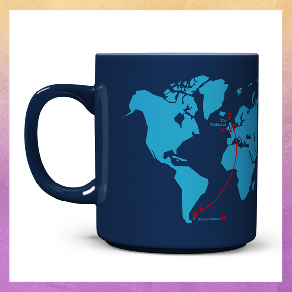 The Falklands or Faroe Islands? Mug