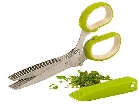 Five Blade Kitchen Herb Scissors