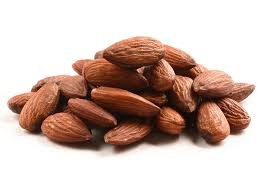ALMONDS ROASTED AND UNSALTED