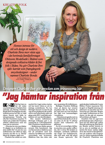 Interview in Svensk Damtidining