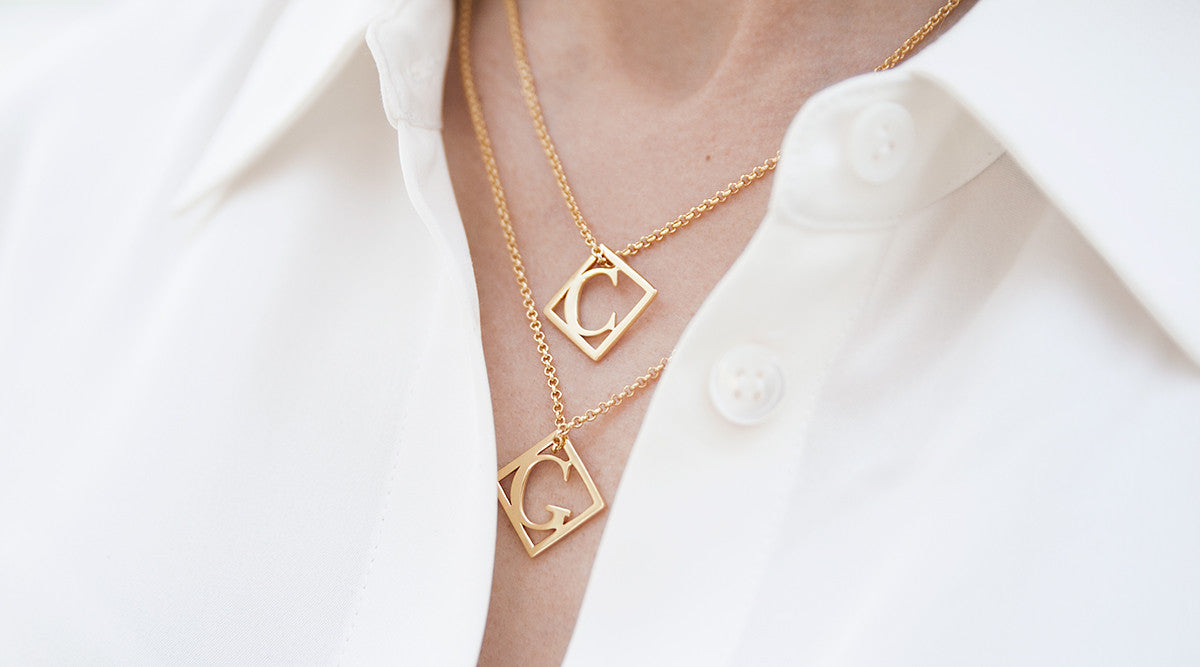 necklace pendant diamond gold letter t necklaces white initial