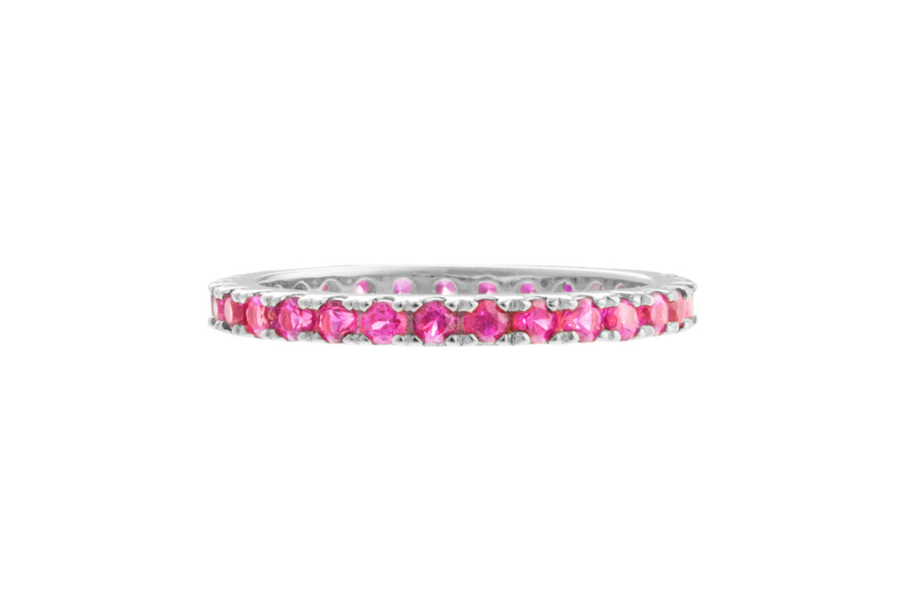 Irma Eternity Ring Ruby