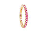 Irma Eternity Ring Ruby - Charlotte Bonde Sthlm
