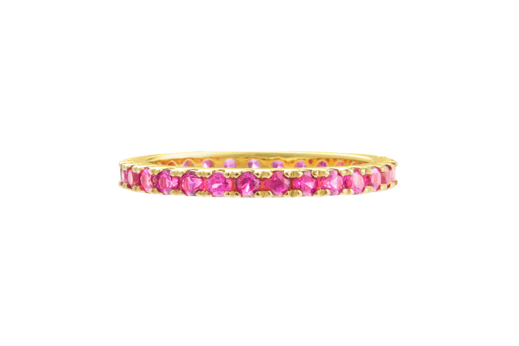 Irma Eternity Ring Ruby - Charlotte Bonde