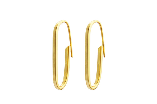 Irma Paperclip Earrings - Charlotte Bonde