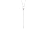 Irma Solitaire Necklace Smoky Quartz - Charlotte Bonde