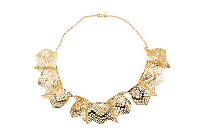 Louise Ribbon Vanity Necklace - Charlotte Bonde