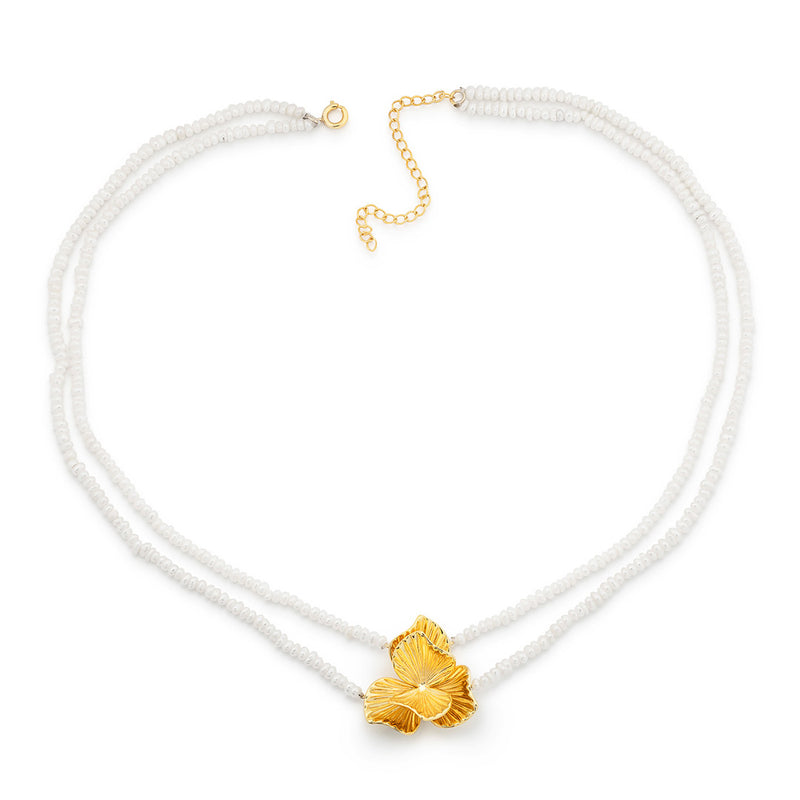 Ever After Poppy Pearl Necklace