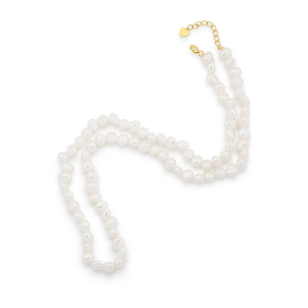 Ever After Poppy Simple Pearl Necklace