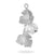 Ever After Poppy Vanity Pearl Pendant Silver Plated