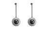 Louise Star Amazon Earrings Black Pearl - Charlotte Bonde