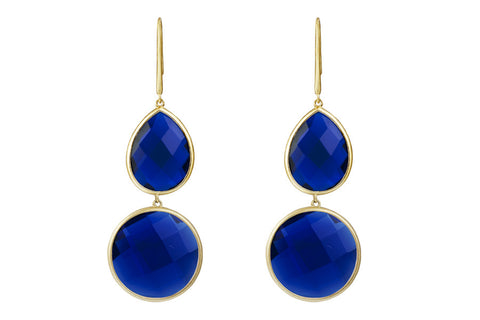 Sophie Amazon Earrings Iolite