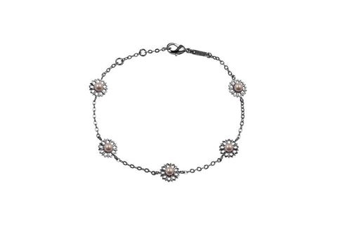 Louise Star Mix Bracelet Pink Pearl