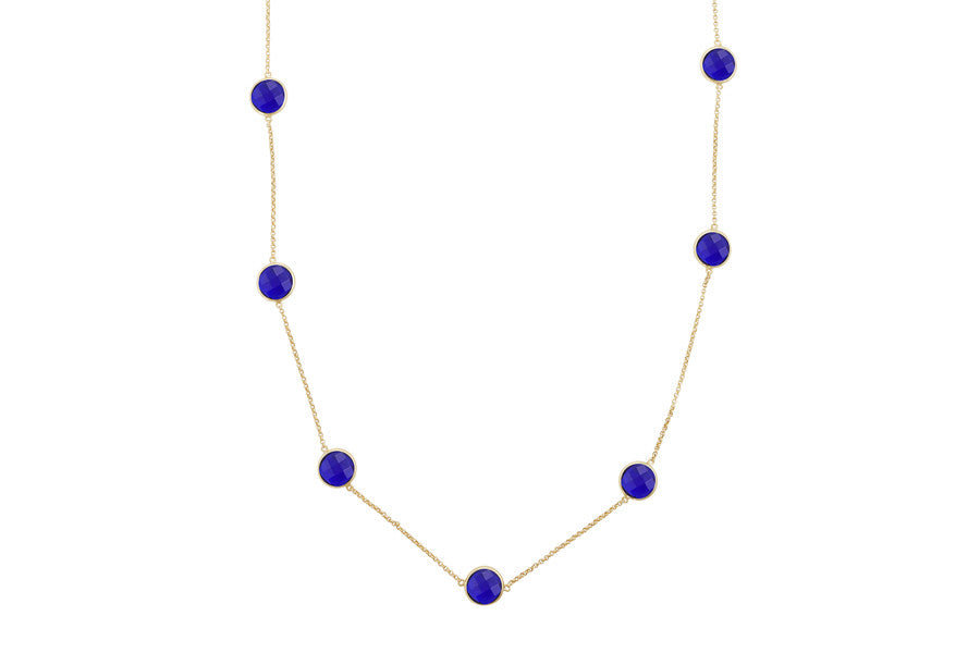 Sophie Just Perfect Necklace Iolite - Charlotte Bonde