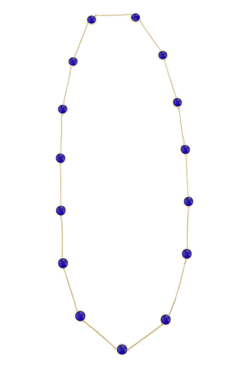 Sophie Just Perfect Necklace Iolite - Charlotte Bonde Sthlm