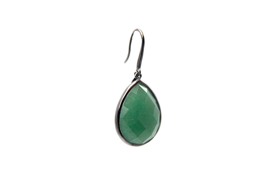 Sophie Petite Earrings Green Aventurine - Charlotte Bonde