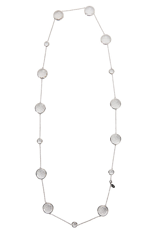 Sophie Amazon Necklace Rock Crystal - Charlotte Bonde