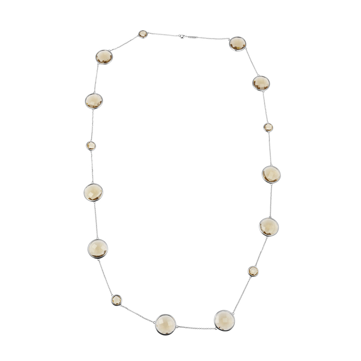 Sophie Amazon Necklace Smoky Quartz - Charlotte Bonde