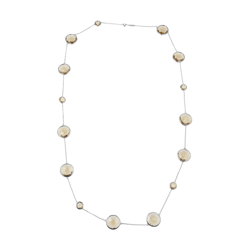 Sophie Amazon Necklace Smoky Quartz - Charlotte Bonde Sthlm