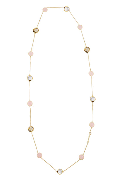 Sophie Just Perfect Necklace Smoky, Rose & Crystal - Charlotte Bonde