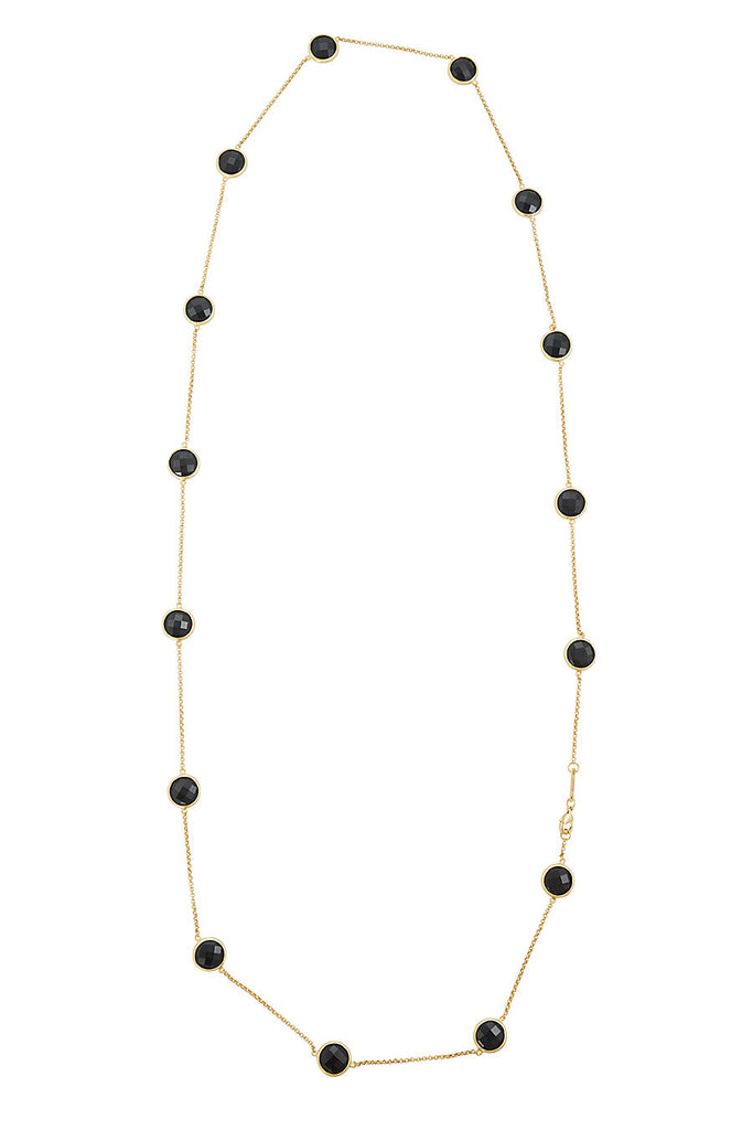 Sophie Just Perfect Necklace Obsidian