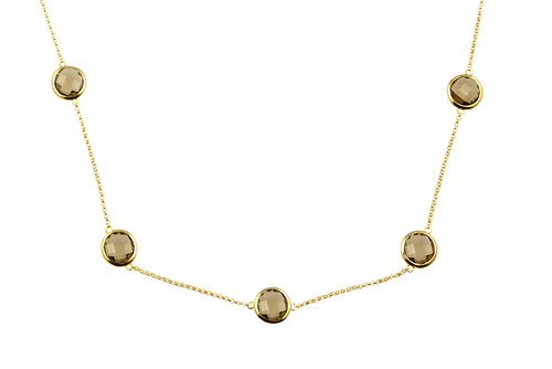 Sophie Just Perfect Necklace Smokey Quartz - Charlotte Bonde