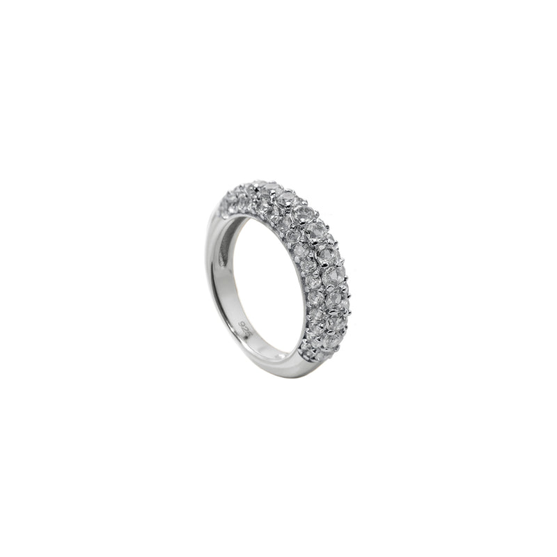 Timeless Chunky Ring Rock Crystal - Charlotte Bonde