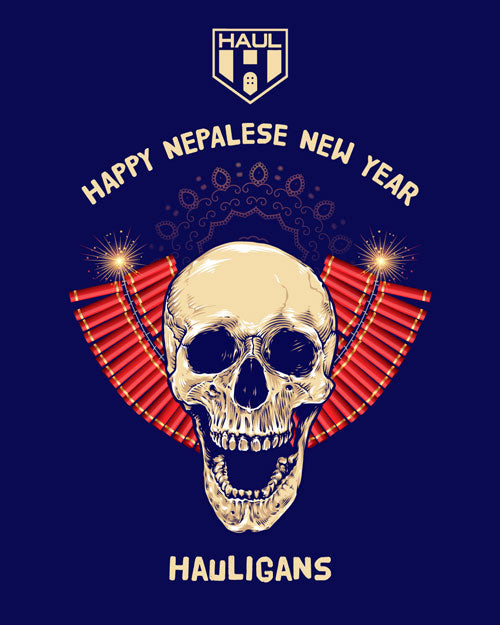 Happy New Year To Our Nepalese Hauligans