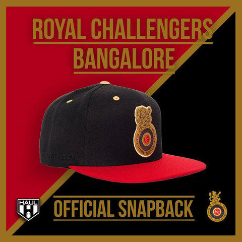 Haul Apparel X Royal Challengers Bangalore Official Snapback Hats