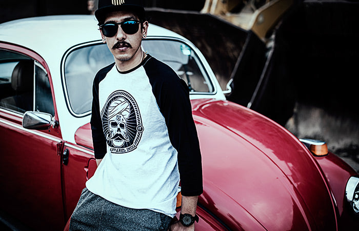 Haul Apparel Vintage Car & Rocking Tshirt Insanely Cool Streetwear Delivering WorldWide