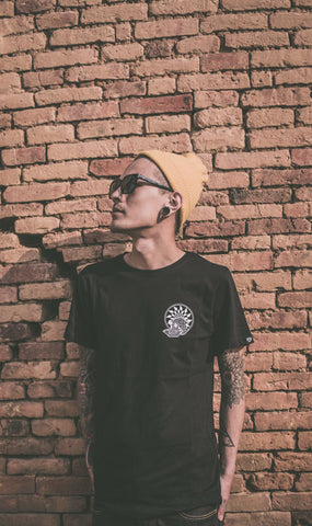 geo death black tee graphic streetwear india haul apparel white sale discount 1