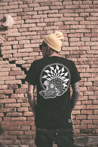 geo death black tee graphic streetwear india haul apparel white sale discount 2