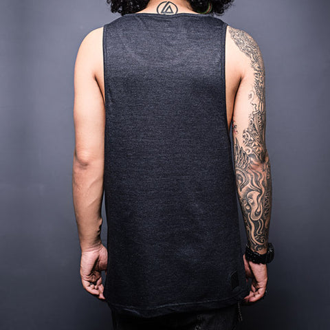 Black Tank Top Back