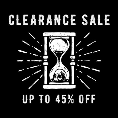 Clearance Sale - Coming Soon