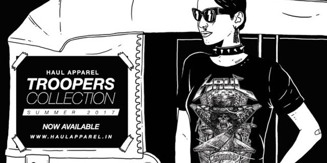 Haul Apparel Troopers Collection Launch feat DZ & Kayo Siddhi