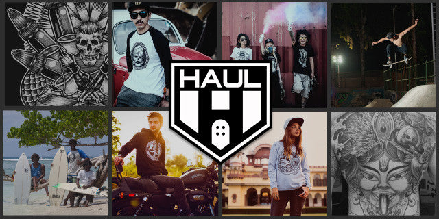 Haul Apparel Collage