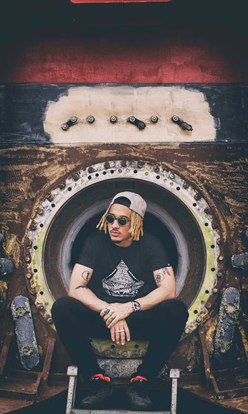 Haul Apparel Diamond Tee & Snapback - Photo by SundayMonday Gurung