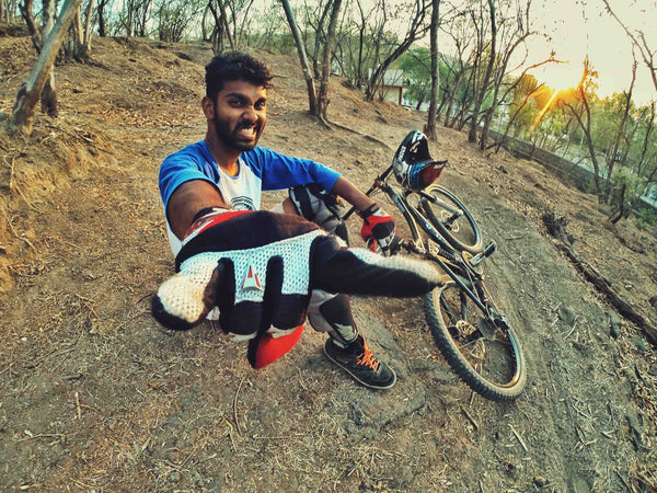 Haul Apparel India Hauligan Ajay Padval Mountain Biker Downhill Pune