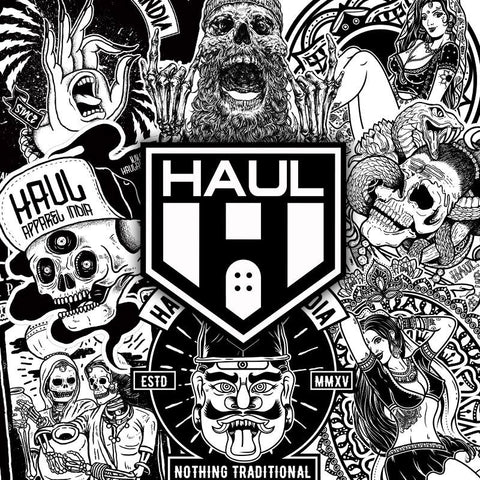 Haul Apparel Sticker Collection in India