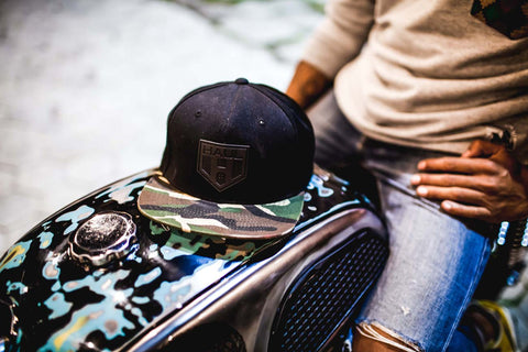 Haul Snapback With The Classic Bike Built By Rs Moto