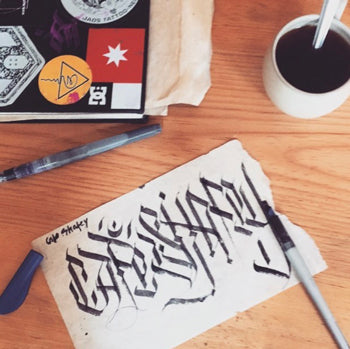 Coffee And Calligraphy