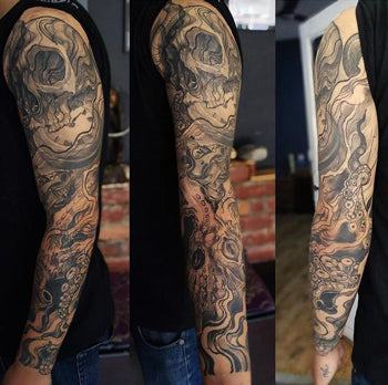 Mettle Ink Sleeve Tattoo