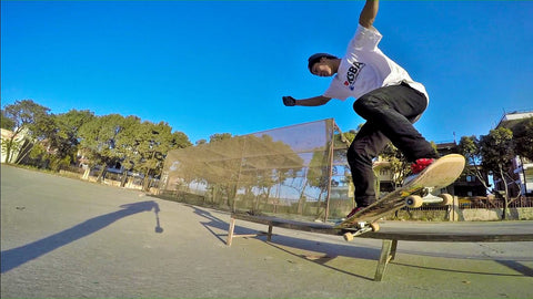 Milan aka pagal xoro crooked grind nepal skateboarding rider for Haul Apparel.jpg
