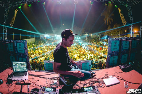 Nucleya caught wearing Haul Snapback Hat in India