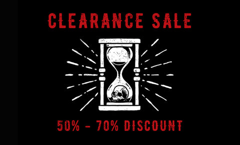 Clearance Sale 2018