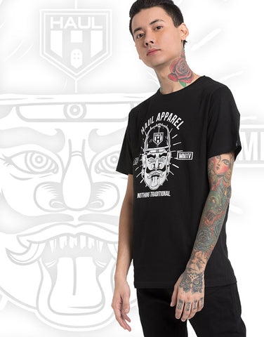 rakshasa black tee haul apparel graphic tshirt streetwear