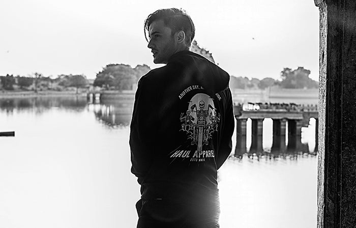 Haul Apparel Motorcycle Riding Hoodie in India, Nepal & Worldwide Shipping
