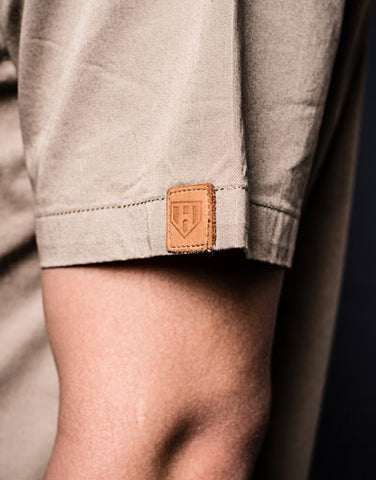 Leather Label Sleeve