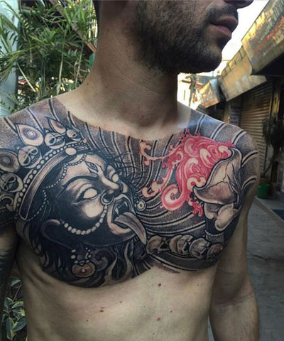 haul apparel jads tattoo nepal chest piece master hauligan 1